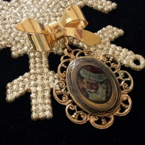 St. Nick Brooch