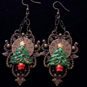 It's Christmas Time Dangle Earrings