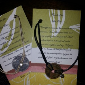 Luke 15:8-10 Coin Bracelet