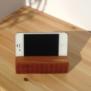 IPhone or IPod Touch Stand Reclaimed Long Leaf Pine
