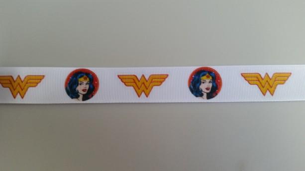 Wonder Woman Gross Grain Ribbon