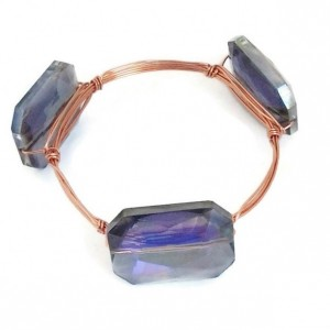 Amethyst Crystal Bangle