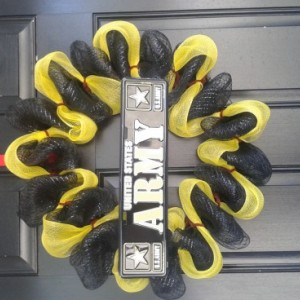 Army wreath