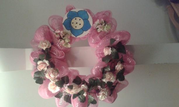 Pink Spring wreaths