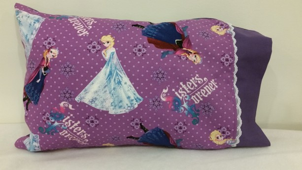 Frozen Sisters Themed Personalized Pillow Case