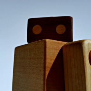Wood Robot - Wood Toy