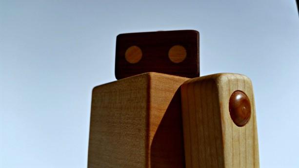 Wood Robot - Wood Toy