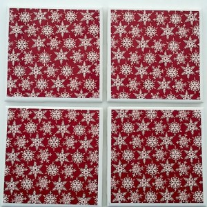 Snowflake Drinking Coasters