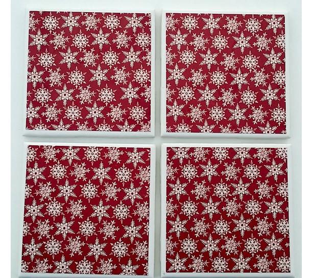 Snowflake Drinking Coasters