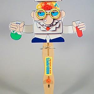 Wooden Puppet-  Mad Scientist