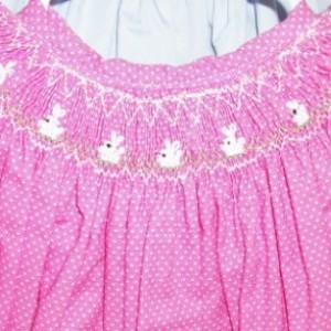 Pink Dot Dress, Size 12 months