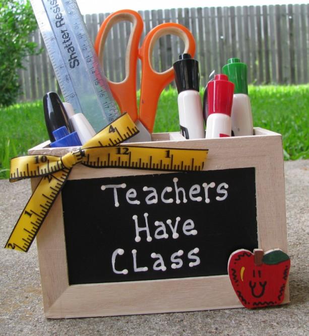 Teacher GIft  2707D Teacher Have Class Supply Box