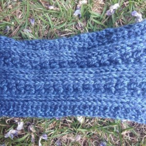 Glacier headband, blue headband, cerulean headband, sky blue headband, headband, headbands, ear warmer, earwarmer, earwarmers, boho