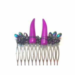 Horned Large Hair Comb
