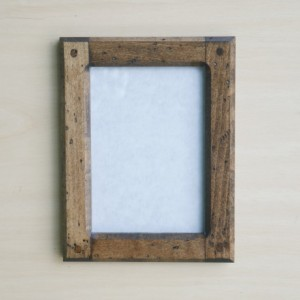 Forever 5 X 7 Distressed   Hard Maple picture frame