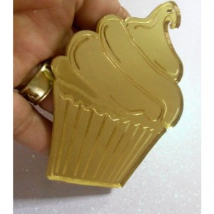 cupcake charms,laser cut cupcakes,party supplies,birthday