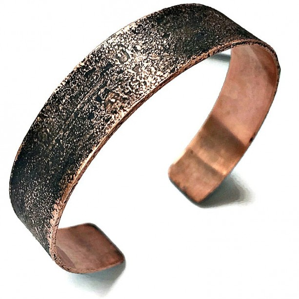 Copper Jewelry Bracelet Personalized Mens Personalised Gift