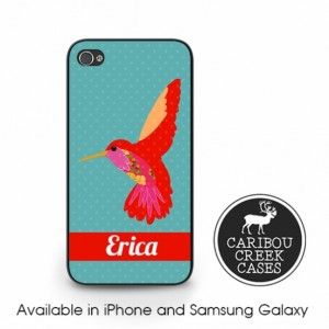 Hummingbird Phone Case iPhone 4/4s iPhone 5/5s/5c