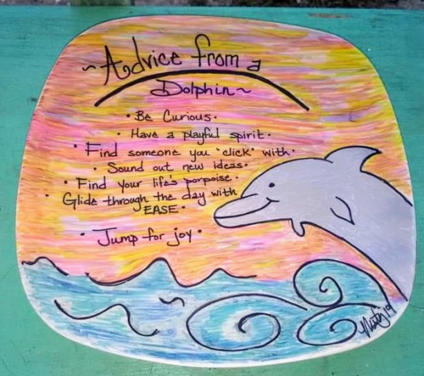 """Advice from a Dolphin"""