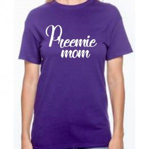 Difficult roads preemie mom shirt