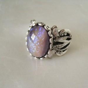 Tanzanite Opal Ring
