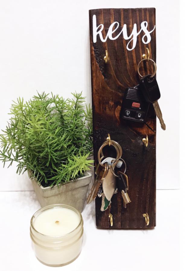 Key Holder | Wood Key Holder