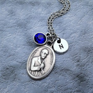 Personalized Venerable Matt Talbot Necklace. Patron Saint of Struggling and Recovering Addicts and Alcoholics