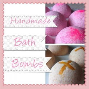 Four Half Sphere Bath Bombs