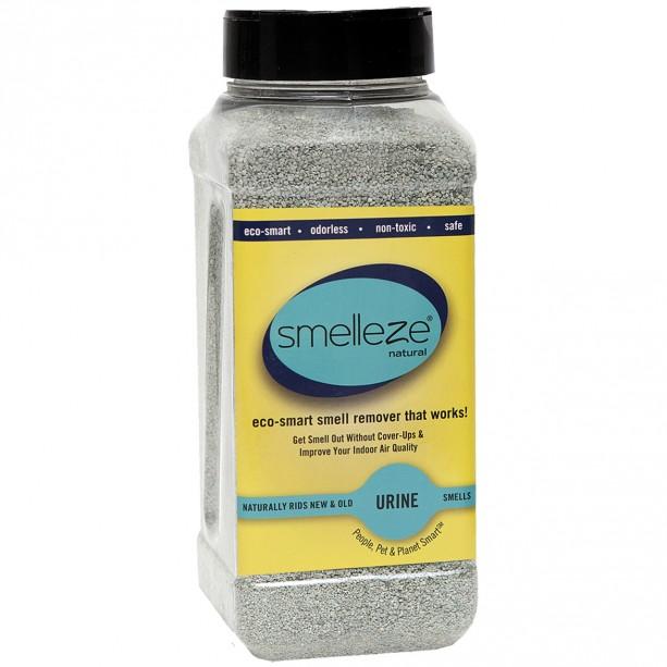 SMELLEZE Eco Urine Odor Remover Deodorizer: 50 lb. Granules Get Pee Stink Out