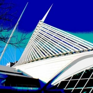 16X20 POSTER MILWAUKEE ART MUSEUM