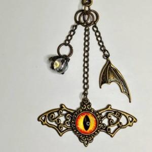 Dragon Eye Keychain