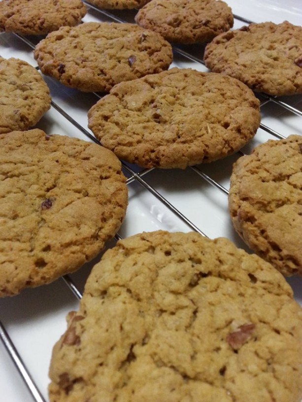 Carolyn's Oatmeal Pecan and Honey Cookies