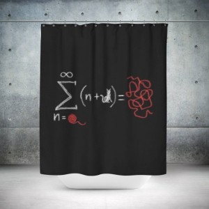 Theory Shower Curtain