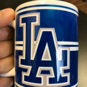 Custom Made Los Angeles Dodgers Coffee Mug