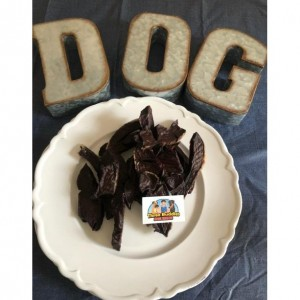 Grass Fed Beef Liver Jerky for Dogs and Cats