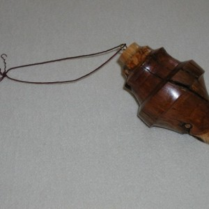 Pine Burl Large Hanging Ornament  #12