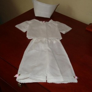 "Nurse Outfit Doll Clothes - Scrubs for 18"" Doll"