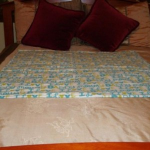 I Love Mommy and Daddy Baby Cotton Quilt Blanket