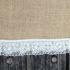"""90"""" x 15"""" Inch Burlap Table Runners (Fit 5ft Round Tables)"""