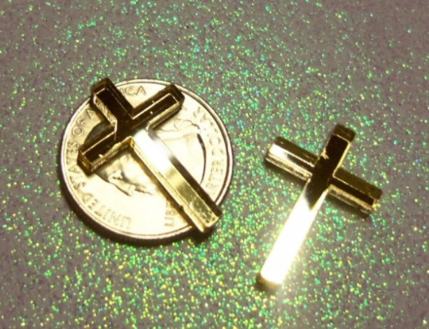 tiny cross charms,laser cut,crosses,kawaii charms,decoden