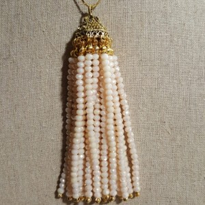 Crystal Tassel Pendant