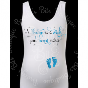 A Dream Is A Wish Maternity Shirt