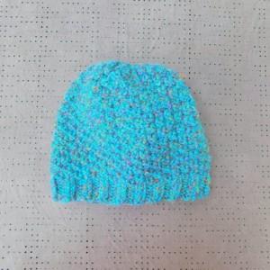 Blue Confetti Adult Hat