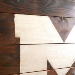 "Wood University of Michigan ""M"" Sign - Hanging Wall Art"
