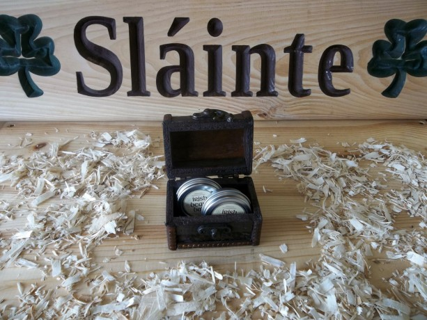 Irish beard balm gift box 1
