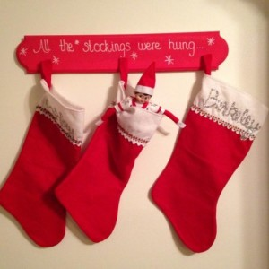All the Stockings Were Hung Stocking Holder