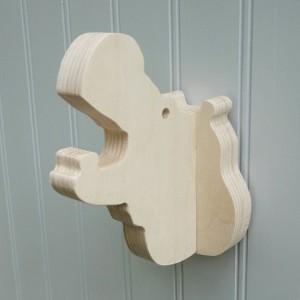 Wall hooks - Hippo wall hook