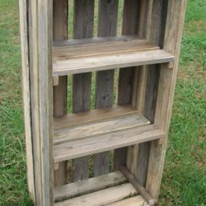 Vintage Pallet Display Crate