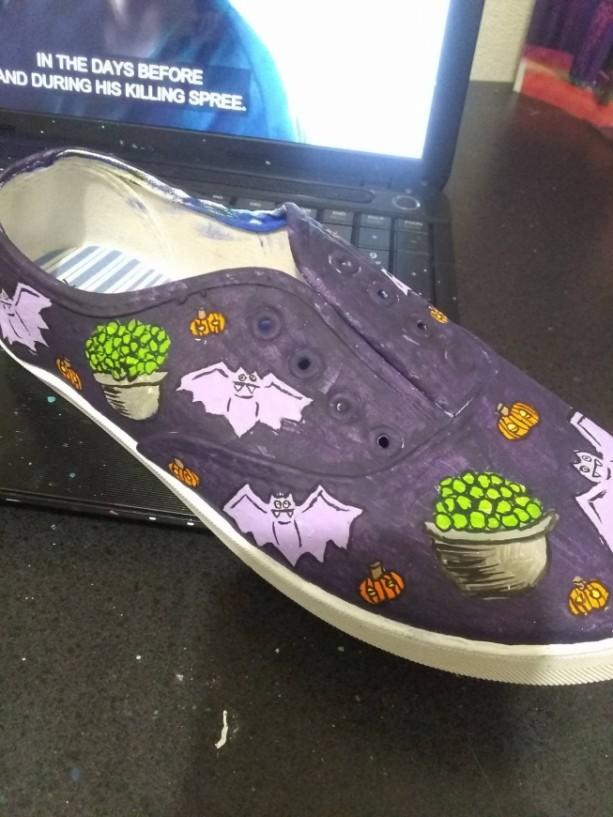 Halloween Pattern Shoes 2