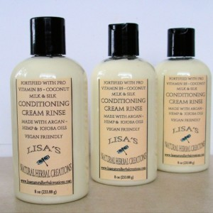 Conditioning Cream Rinse with pro Vitamin B5, coconut milk, silk amino acid, Natural Hair Conditioner Hair Moisturizer Natural Conditioner